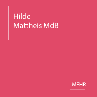 SPD Kreisverband Ulm –Hilde Mattheis MdB